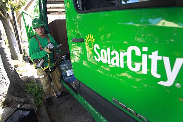You are at: Home » Energy & Solar » SolarCity Corp (NASDAQ: SCTY ...