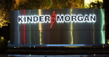 Kinder Morgan sign