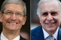 icahn and tim cook