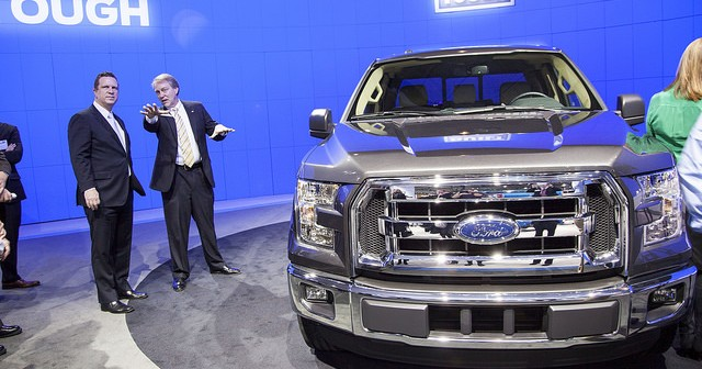 Ford Motor Company (NYSE:F) Introduced Aluminum Tanks in Its New F 150